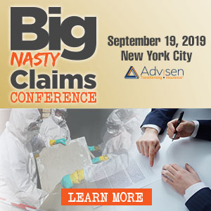 2019 Big Nasty Claims Conference – New York