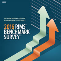 2016 RIMS Benchmark Survey